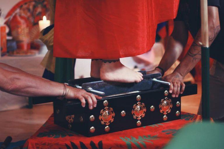 Andrea Kalff Tanz auf den Messern Chakdu