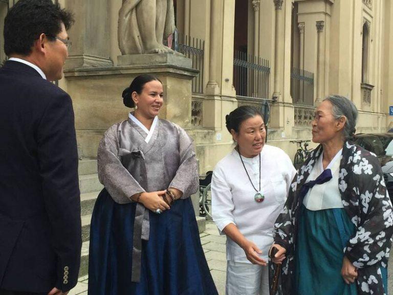 Interview mit Kim Keum Hwa und Andrea Kalff
