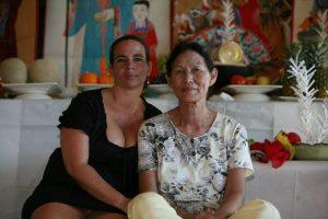 Meisterschamanin Kim Keum Hwa mit Mudang Andrea Kalff